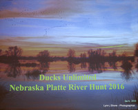 Ducks Unlimited Nebraska Platte River Hunt